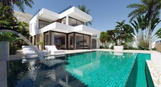 Fantastica villa de nueva construcción con vistas al mar y a Benidorm! PD-19118