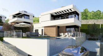 Вилла в стиле модерн в жилом комплексе с панорамным видом на море PD-19119